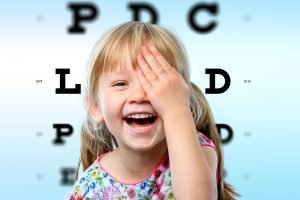 childrens eye test cork