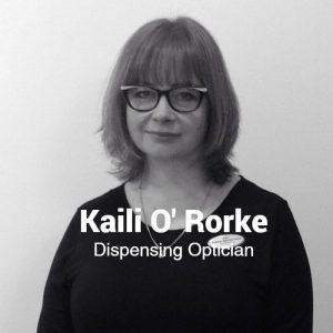 Kaili O'Rourke, Dispensing Optician, Egans Opticians