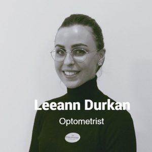 Leeann Durkan, Optometrist, Egans Opticians