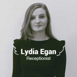 Lydia Egan, Repectionist, Egans Opticians