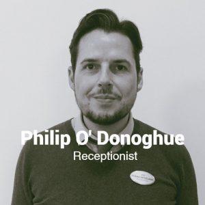 Philip O'Donogue - Receptionist, Egans Opticians